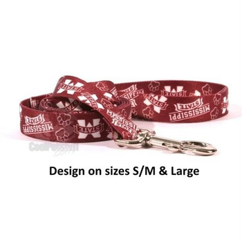 Mississippi State Bulldogs Nylon Leash