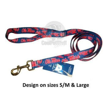 Ole Miss Rebels Nylon Leash