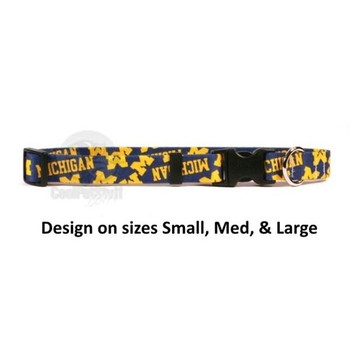 Michigan Wolverines Nylon Collar