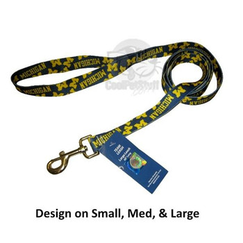Michigan Wolverines Nylon Leash