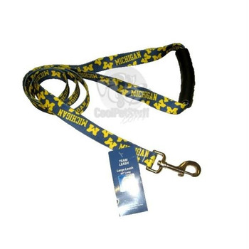 Michigan Wolverines EZ Grip Nylon Leash