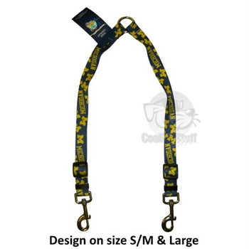 Michigan Wolverines Nylon 2-Way Coupler