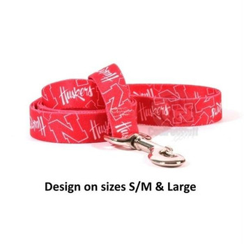 Nebraska Huskers Nylon Leash