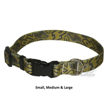 Purdue Boilermakers Nylon Collar