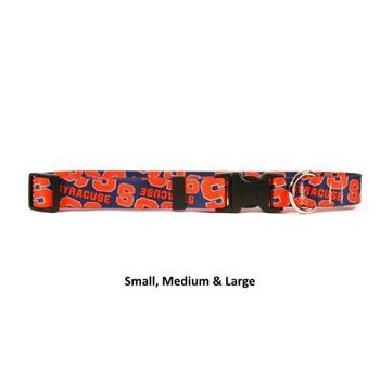 Syracuse Orange Nylon Collar