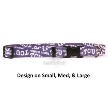 TCU Horned Frogs Nylon Collar