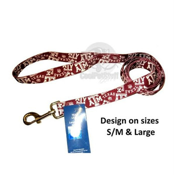 Texas A&M Aggies Nylon Leash