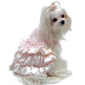 I Dream of Maggie Hand-Smocked Dog Dress