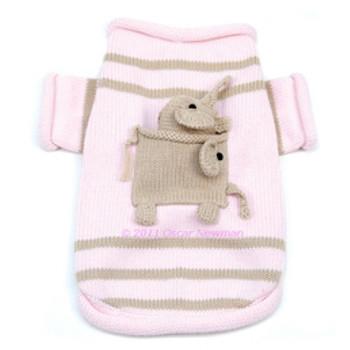 Pocket Full of Elephant Dog Sweater