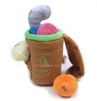 Golf Champ Plush Dog Toy