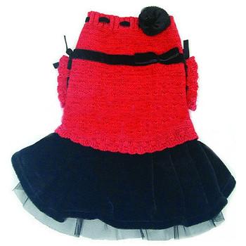 Mary Jane Dog Sweater Dress