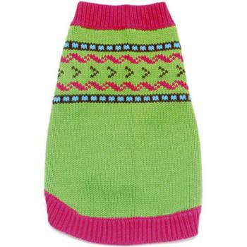 Antigua Bay Intarsia Dog Sweater