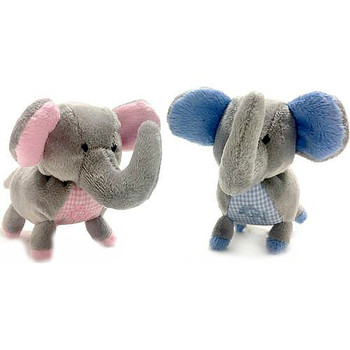Elephant Safari Baby Pipsqueak Puppy Dog Toy