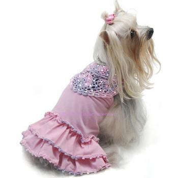 Craving Cotton Candy Dog Dress