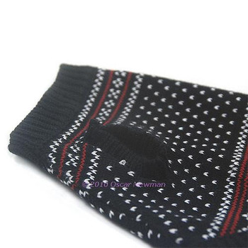 Dinner Date Jacquard Dog Sweater