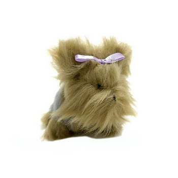 Violet Yorkie Pipsqueak Small Dog Toy