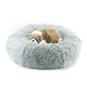 Platinum Shag Dog Bed