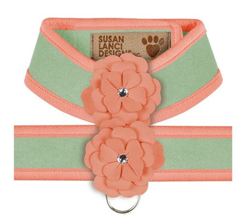Design Your Own - Tinkie's Garden Dog Harness - Mint