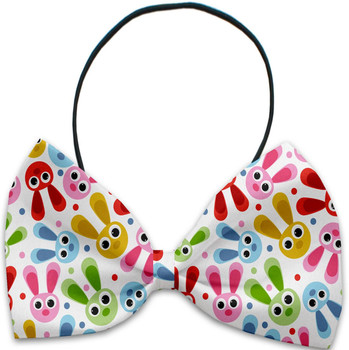 Funny Bunnies Pet Dog Bow Tie