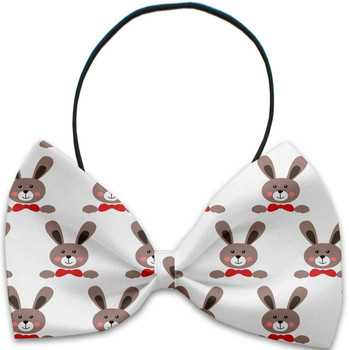 Dapper Rabbits Pet Dog Bow Tie