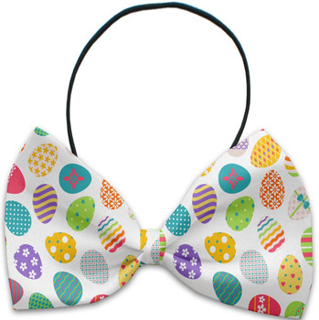Easter Eggs Pet Dog Bow Tie