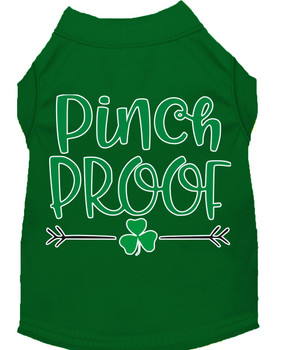 Pinch Proof Screen Print Dog Shirt / Tank - 6 Colors