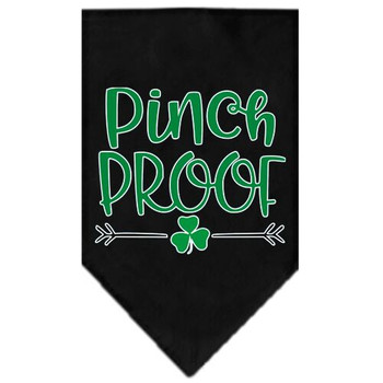 Pinch Proof Screen Print Tie-on Pet Dog Bandana