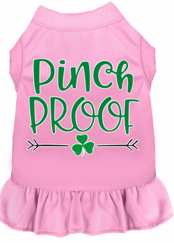 Pinch Proof Screen Print Dog Dress - 4 Colors