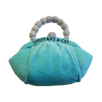 Sniffany Purse Plush Dog Toy