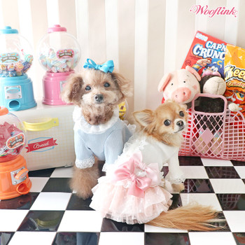 Wooflink Romantic Lacey Dog Blouse