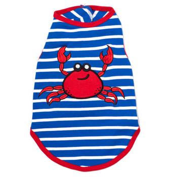 Red Crab Pet Dog T-Shirt - Small - Big Dog
