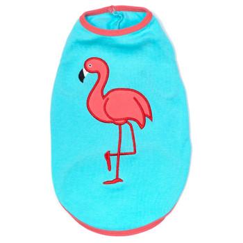 Flamingo Pet Dog T-Shirt - Small - Big Dog