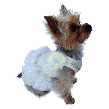 Garden Party Tutu Dog Dress - Ivory
