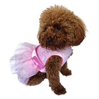 Fufu Tutu Dog Dress - Zsa Zsa Pink