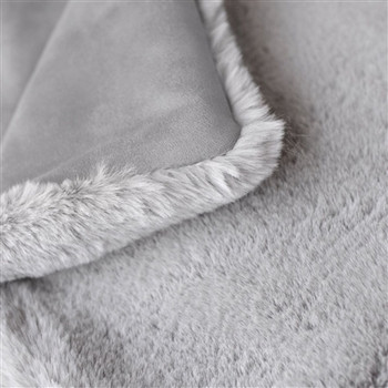 Divine Pet Dog Blanket or Throw - Dove Grey