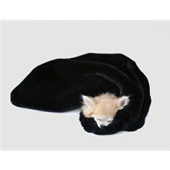 Divine Pet Dog Blanket or Throw - Black