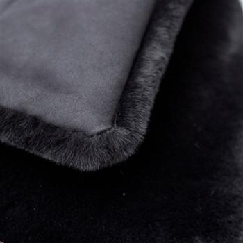 Divine Pet Dog Blanket or Throw - Black