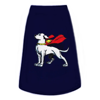 Superman Krypto Patch Dog Tees