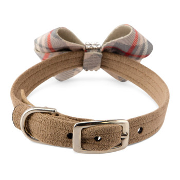 Scotty Nouveau Bow Doe Plaid Bow Collar