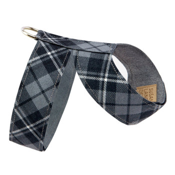 Scotty Charcoal Tinkie Dog Harness Plain Plaid