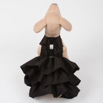 Black Couture Designer Madison Dog Dress