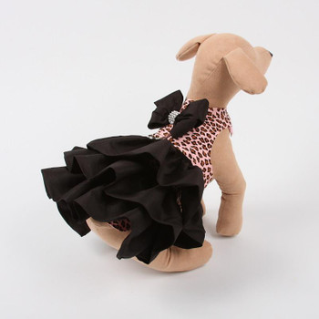 Pink Cheetah Couture Designer Madison Dog Dress