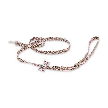 Cheetah Couture - Big Bow Dog Leash by Susan Lanci