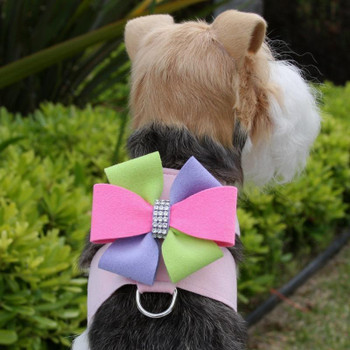 Madison Bow Tinkie Dog Harness