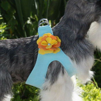 Darla Flowers Dog Step In Harness
