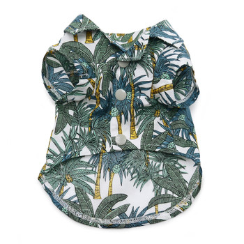 Tropical Leaf Dog Shirt