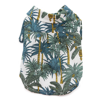 Tropical Leaf Dog Shirt