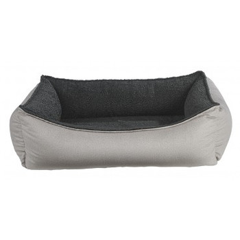 Sandstone Micro Flannel Oslo Ortho Pet Dog Bed