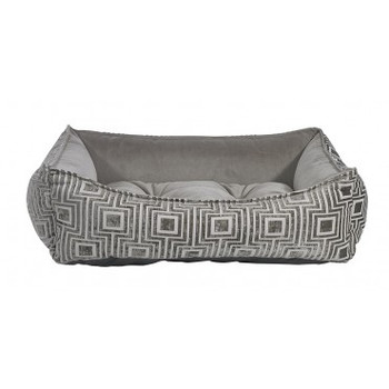 Cafe Au Lait Jacquard  Oslo Ortho Pet Dog Bed
