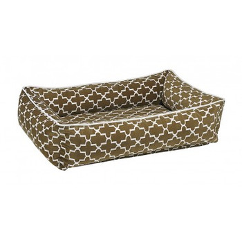 Cedar Lattice Microvelvet Urban Lounger Pet Dog Bed
